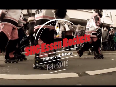 Video: Rockets @ Karneval Rosenmontagszug 2018